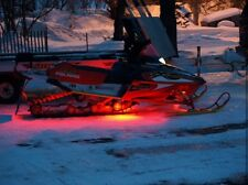 LED Snowmobile Underglow 12v Custom LED Neon Accent Lighting Red 4 Pcs 1' Atv