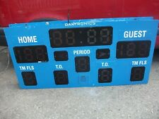More details for daktronics led score board 1830mm x 150mm x 915mm high
