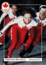 1992 Canadian Olympic Hopefuls #133 Christine Boudrias