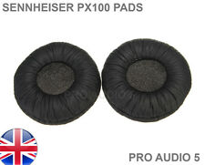 Leather Ear Cushion Pads Black Sennheiser PX100 PMX100 X200 PXC300 PXC250 PXC150