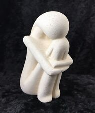 Cycladic Art Female Form  Bonded Stone Made in Greece