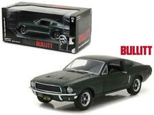 Ford Mustang GT 1968 Bullit Steve Mcqueen GREENLIGHT 1:18 GREEN - Die Cast