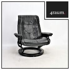 Ekornes Stressless Royal L ohne Hocker Sessel Leder Relax Fernseh Chair Vintage