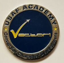 "USAF United States Air Force Academy Vector Coin ""Excellence Integrity Service"""
