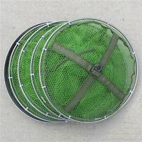 Foldable Crayfish Crab Lobster Shrimp Fishing Trap Bait Pot Dip Net Cage Tackle