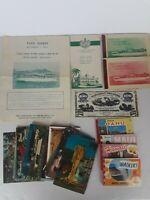VTG Ephemera Lot HAWAII Postcards Pearl Harbor Paper Color Pictures Kamehameha
