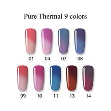 10ml Born Pretty Thermal Soak Off UV Gel Polish Glitter Color Changing Nails Gel