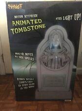 Spirit Halloween Motion Animated Tombstone