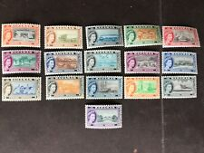 Bahamas stamps set of 16 definitives 1964 mounted mint