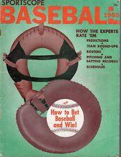 1960 Sportscope Baseball Magazine, Predictions, Team Round-ups ~ Fair