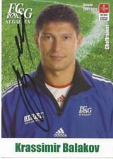 KRASSIMIR BALAKOV-BULGARIEN-VFB STUTTGART-FC ST GALLEN-AUTOGRAMMKARTE-RAR