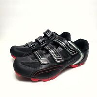 SPECIALIZED Men's Sport BODY GEOMETRY Black, Gray & Red Cycling Shoes Size 12