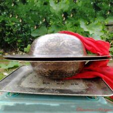 """15"""" Tibetan Temple Ritual Bell Metal Bell Bronze Cymbals Hand Bell Faqi青銅鈸#1585"""