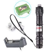 Green Light Laser Pointer pen kit set 1mw 532nm 8000M  Lazer Beam Pointers Boxed