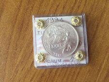 MONETA REPUBBLICA ITALIANA 1000 LIRE TINTORETTO 1994 sigillata FDC SUBALPINA