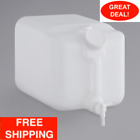 Noble Chemical 5 Gallon Plastic Dispensing Container Jug With Spigot Cleaner