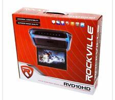 "Rockville RVD10HD-GR 10.1"" Flip Down Monitor DVD Player, HDMI, USB, Games, LED"