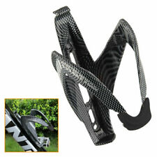 Durable Carbon Fiber Road Mountain Bike Bicycle Water Bottle Stand Holder Cage