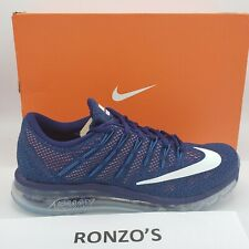 Nike Air Max 2016 Men's Size 10 NEW IN BOX Running Shoes 806771-411 Loyal Blue