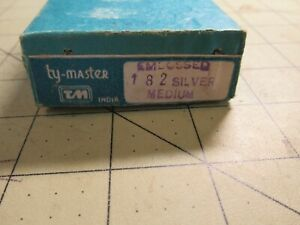 12 Spools x 10 Yards Each Silver Embossed Metal Medium Tinsel Fly Tying Thread