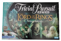 Trivial Pursuit DVD Board Game The Lord Of The Rings Trilogy Edition Hasbro