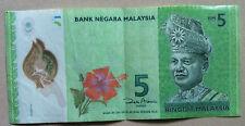 Zeti polimer rm5 prefix AA1136219  Banknote  EF++