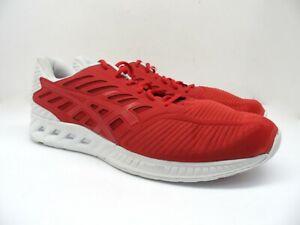 ASICS Men's fuzeX Spirit Collection Athletic Running Shoes T6K0N Red/White 12M