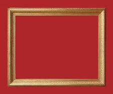 Spiegelrahmen / Gemälderahmen - Holz, Ornamente Masse, vergoldet   (# 2638)