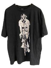 Obey Xl Vintage Gas Mask Bicycle Messenger Black Tee Shirt