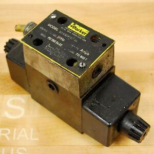 Parker D3W1CNYC 30 Hydraulic Control Valve, 110/120 VAC 50/60HZ 5000 PSI MAX