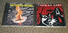 Faith No More 2 CD Lot King for a Day/The Real Thing albums ORIGINAL PRINTING