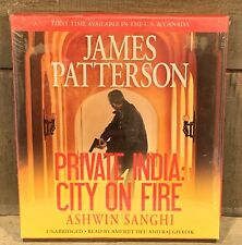 NEW Private India City on Fire by James Patterson and Ashwin Sanghi (7 CDs) 612C