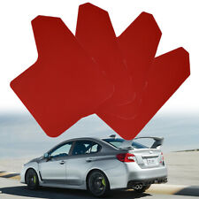 For Subaru Impreza WRX STI Forester Red Mudguard Mud Flaps Splash Guards Mudflap