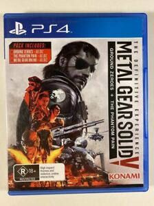Metal Gear Solid V The Definitive Experience PS4 VGC PAL