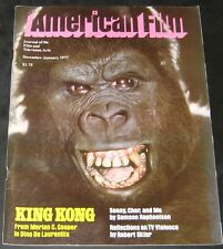 American Film December 1976 January 1977-King Kong-Dino De Laurentiis
