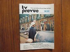 1976 Chicago Sun-Time TV Prevue Mag(UPSTAIRS DOWNSTAIRS/JEAN MARSH/DAVID LANGTON