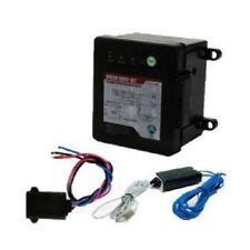 Trailer Break Away Breakaway Kit w/ Charger, Switch & LED Battery Test Electric