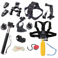 Video Sports Camera Accessories Kits for XIAOMI YI 4K+ Eken H9R H8R Gitup Gopro7