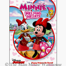 Disney Junior Mickey Mouse Clubhouse Minnie and Daisy Helping Hearts Kids DVD
