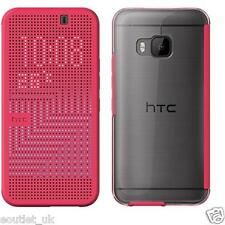 Case Cover Original HTC Dot View 2 HC M232 Pink for One M9