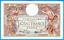 FRANCE 100 FRANCS LUC OLIVIER MERSON 23.12.1937