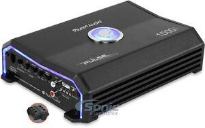 Planet Audio Pulse 1500Watt RMS Monoblock Amp MOSFET Amplifier+Remote PL1500.1M