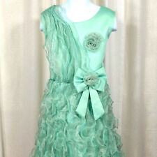 Flower Girl Birthday Wedding Bridesmaid Kids Pageant Formal Gown Dresses Size 12
