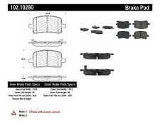 Disc Brake Pad Set-Rear Disc Front Centric 102.10280