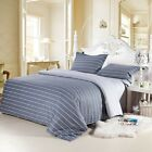 King/Queen/Double/Single Size Bed Quilt/Doona/Duvet Cover Pillowcases Set New 3P