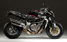 MV AGUSTA TOUCH UP PAINT BRUTALE 910R 2007 ONWARDS DARK GREY MET AND BLACK PEARL