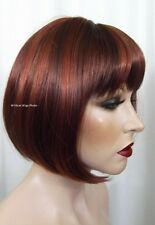 Fab Denise Wig .. Hot Color Mix  .. 33/130 Auburn/Fox Red