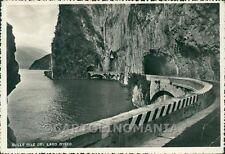 Bergamo Sarnico Iseo PIEGA foto FG cartolina GIO00042