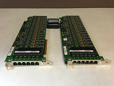 2x DiaLogic DMV160LP 16-Port Combined Media Board with Connecting Cable