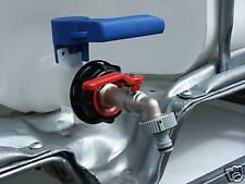 Wasserhahn mit Gardena Adapter Regenwassertank / Tank - IBC Container,